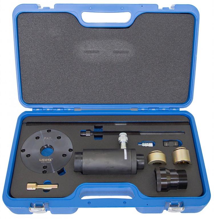 Съемник гидравлический для запрессовки и выпрессовки сайлентблоков и подшипников ATC-1020 LICOTA ЛИКОТА